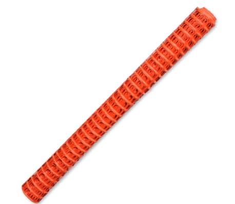 Plastové protisněhové a ochranné pletivo - 50 m - oranžové[3/5]