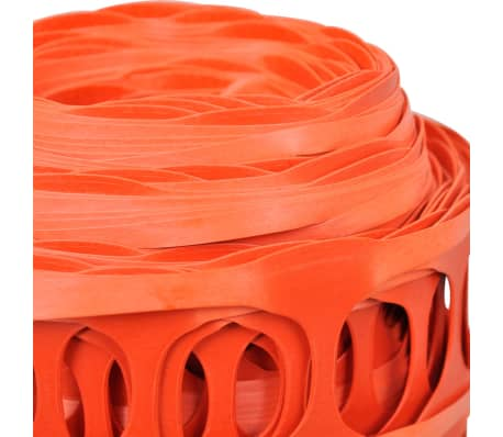 Plastové protisněhové a ochranné pletivo - 50 m - oranžové[4/5]