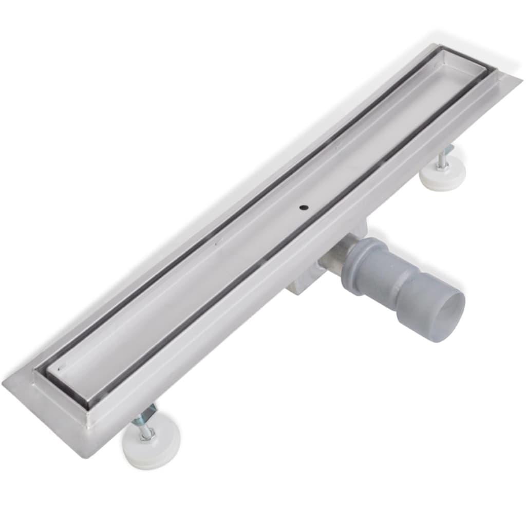 Sprchový odtokový žlab podlahový 540 x 110 mm