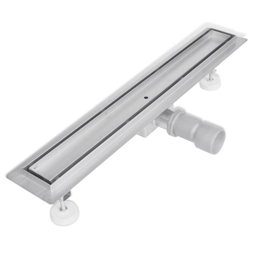 Sprchový odtokový žlab podlahový 640 x 110 mm