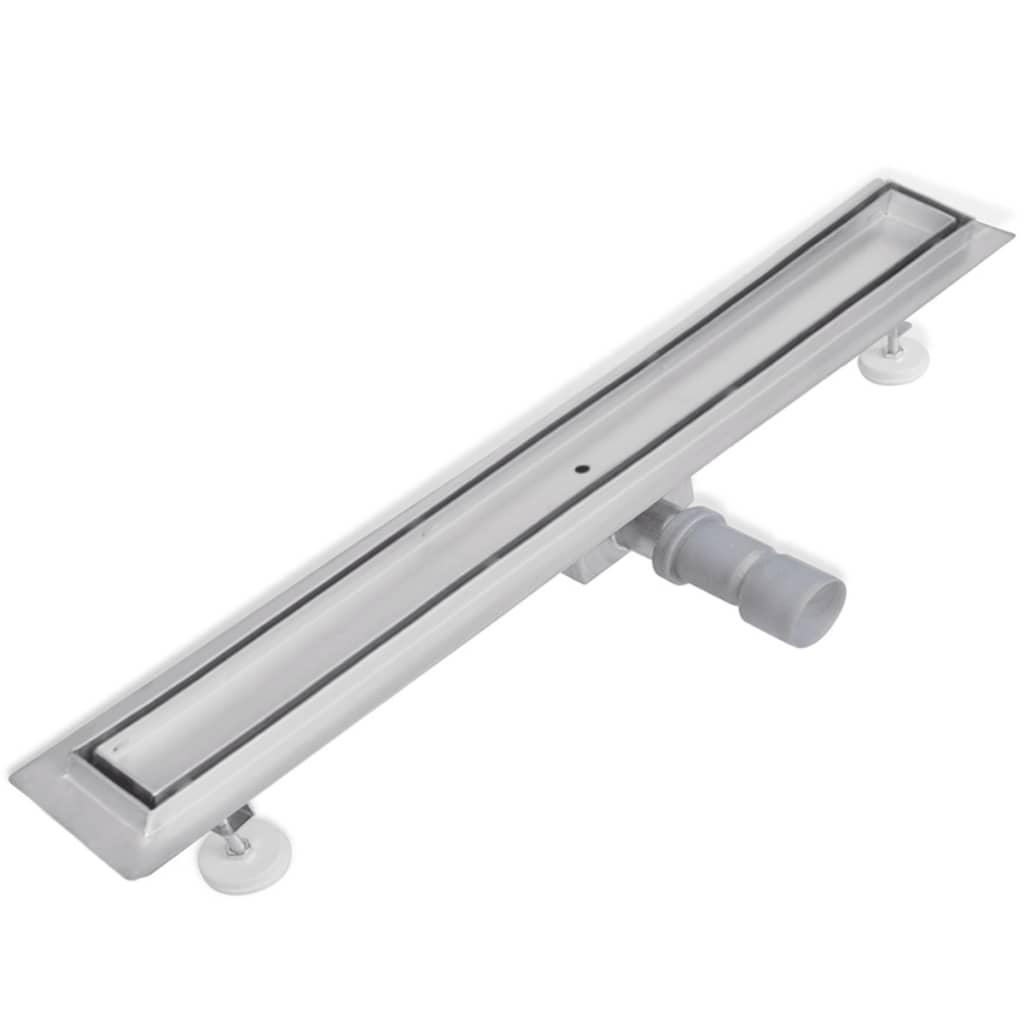 Sprchový odtokový žlab podlahový 840 x 110 mm