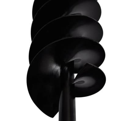 Bohrer mit Griff 80 mm Doppelspirale Schwarz[5/5]