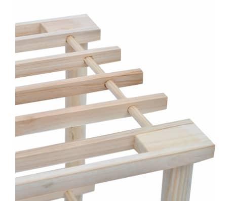 Dřevěné botníky se 4 policemi, 2 ks[4/5]