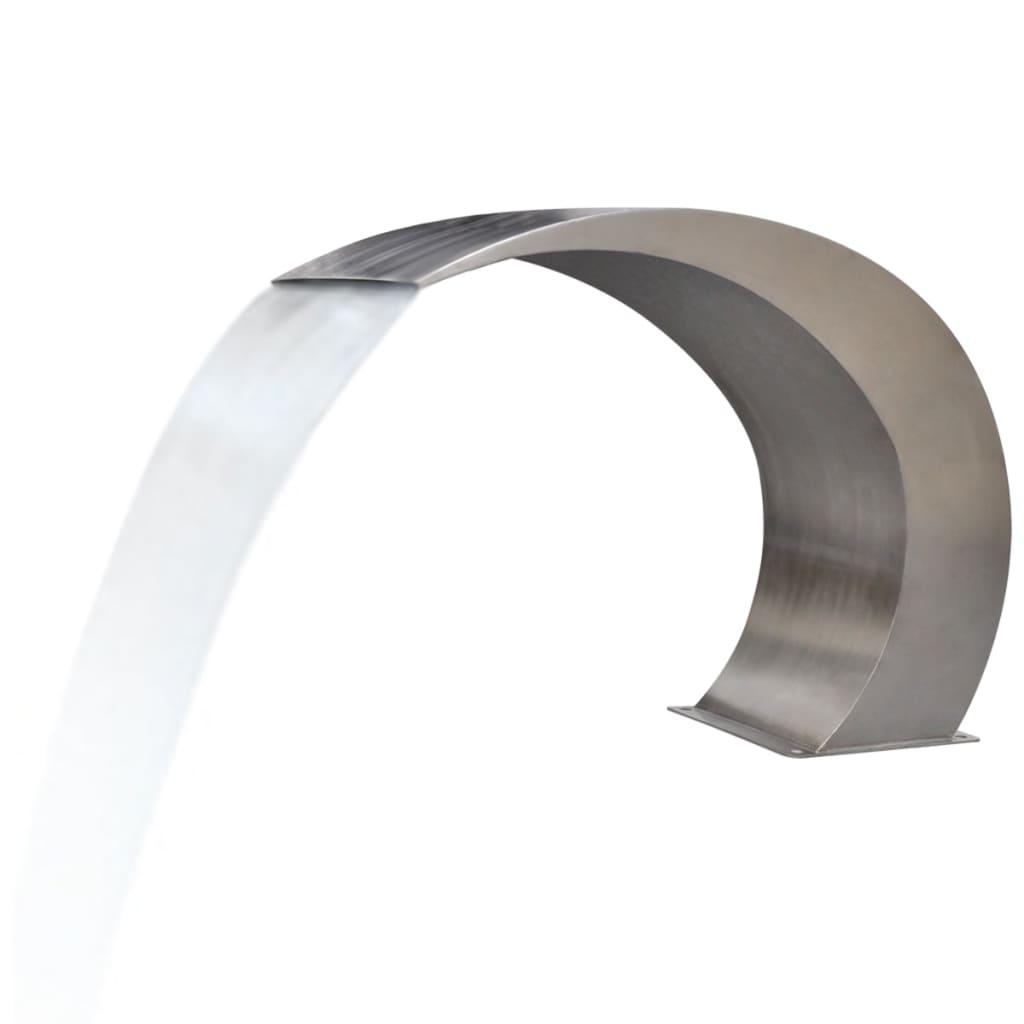 Cișmea Cascadă pentru Piscină din Oțel Inoxidabil 450 x 300 x 600 cm imagine vidaxl.ro