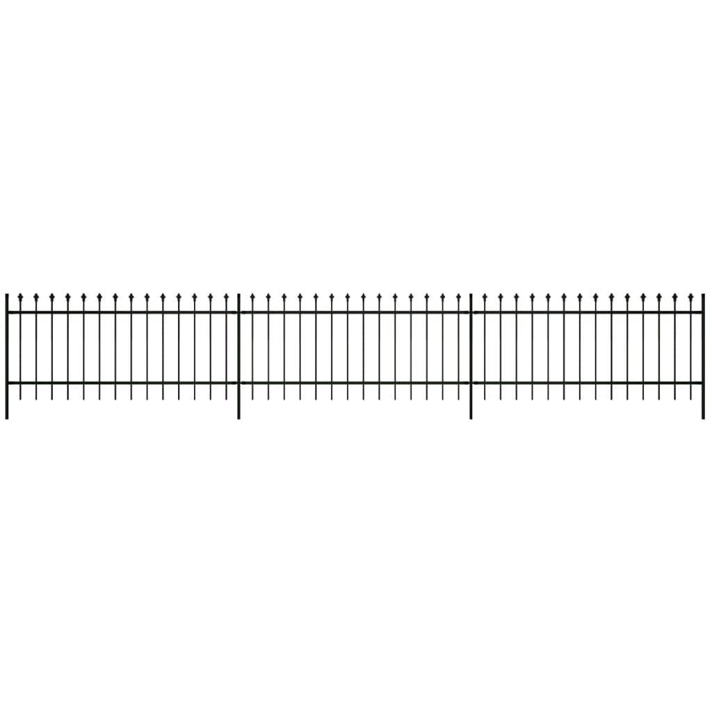 99141110 Dekorativer Zaun Gartenzaun gespitzt 60 cm