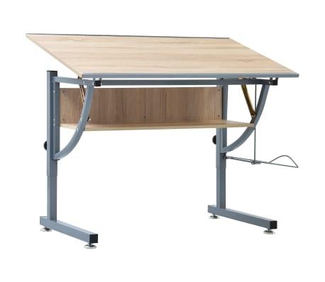acheter vidaxl table dessin inclinable hauteur r glable. Black Bedroom Furniture Sets. Home Design Ideas
