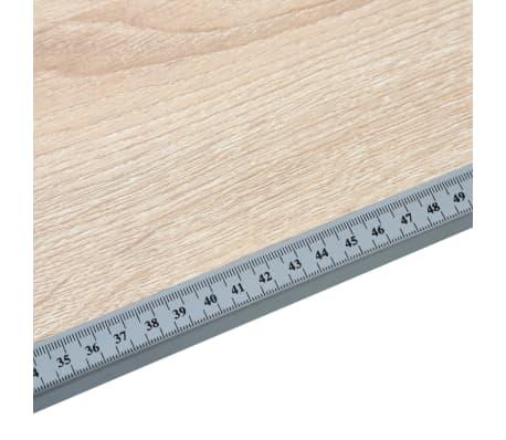 vidaXL Braižymo stalas paaugliams, ąžuolo spalvos, 110x60x87cm, MDF[8/9]