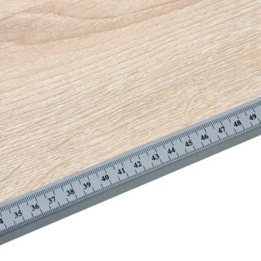 vidaXL Table à dessin pour adolescents Chêne 110x60x87 cm MDF[8/9]