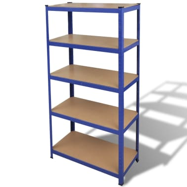 vidaXL Storage Shelf Blue[1/7]