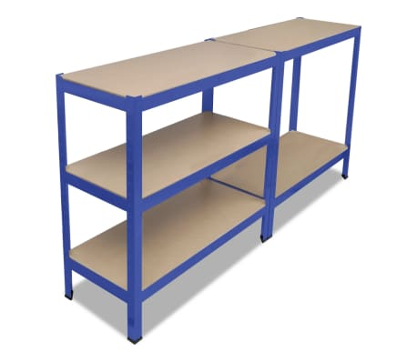 vidaXL Storage Shelf Blue[4/7]