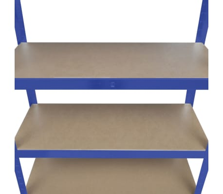 vidaXL Storage Shelf Blue[5/7]