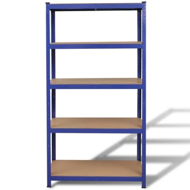 vidaXL Storage Shelf Blue[2/7]
