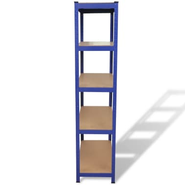 vidaXL Storage Shelf Blue[3/7]