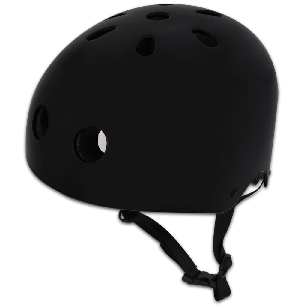 Cască ciclism BMX M 55-58 cm, Negru poza 2021 vidaXL