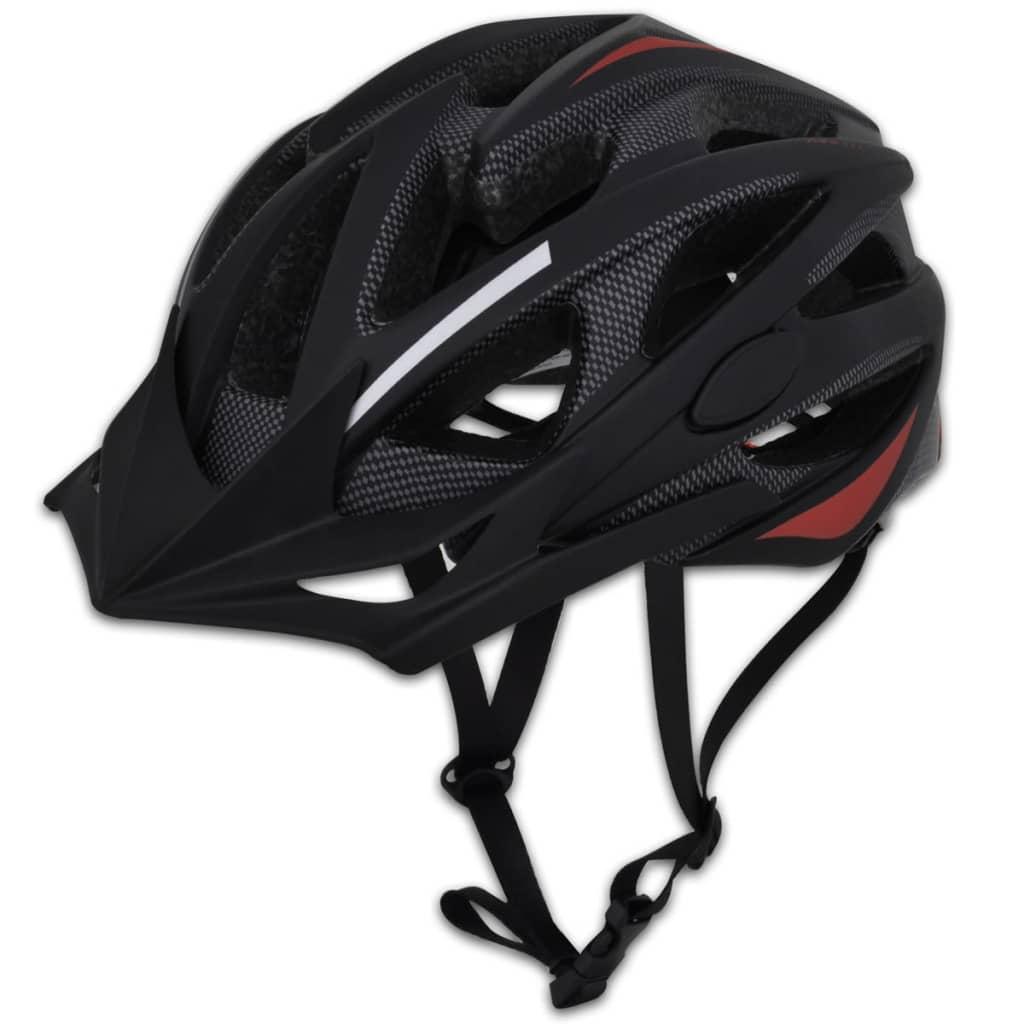 Cască ciclism cu vizieră detașabilă L 58 - 61 cm poza 2021 vidaXL