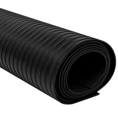 Guminis neslystantis grindų kilimėlis su briaunelėmis, 2 x 1 m[2/5]