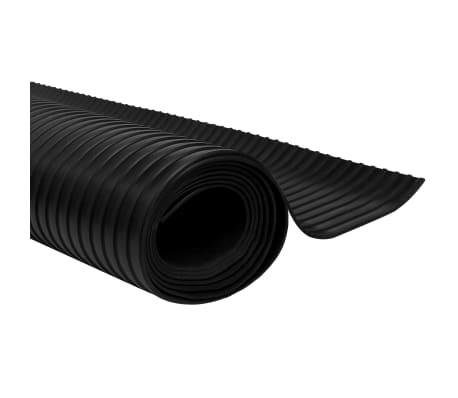 Guminis neslystantis grindų kilimėlis su briaunelėmis, 5 x 1 m[2/5]