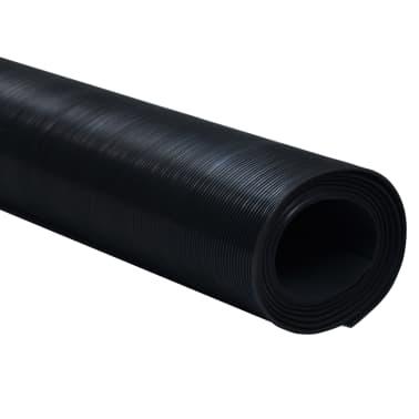 Guminis neslystantis grindų kilimėlis su plon. briaunelėmis, 2 x 1 m[2/5]