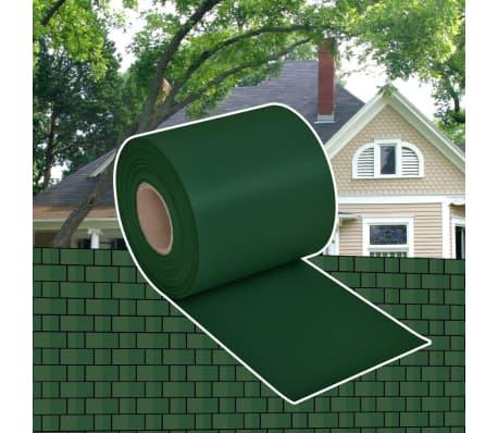 pvc sichtschutz zaunfolie zaun windschutz 70 x 0 19 m gr n g nstig kaufen. Black Bedroom Furniture Sets. Home Design Ideas