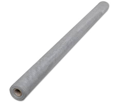 "Aluminum Mesh Roll Insect Screen Door / Window 3' 3"" x 16' 4"" Silver[2/5]"