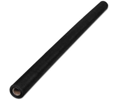 "Fiberglass Mesh Roll Insect Screen Door / Window 3' 3"" x 33' Black[2/5]"