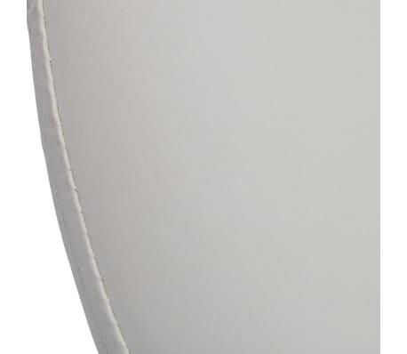 Professional Salon Spa Stool Swivel Stool White Eclipse Design[5/5]