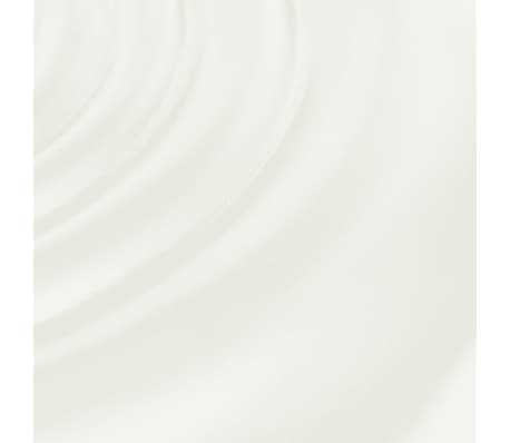 Professional Salon Spa Stool White Round Seat with Backrest[5/5]