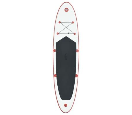 Stand Up Paddle Surfboard aufblasbar rot und weiß günstig kaufen Weitere Wassersportarten