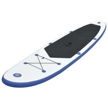 Nafukovací Stand up paddleboard, modro biely[2/6]