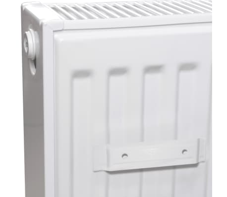 White Compact Convector Radiator Side Connectors 120 x 10 x 60 cm[4/8]