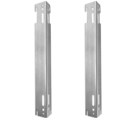 White Compact Convector Radiator Side Connectors 120 x 10 x 60 cm[6/8]