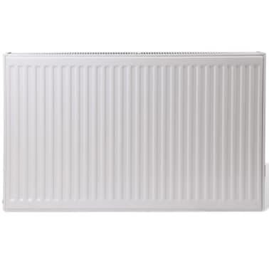 White Compact Convector Radiator Side Connectors 120 x 10 x 60 cm[2/8]