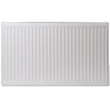 White Compact Convector Radiator Bottom Connectors 120 x 10 x 60 cm[2/8]