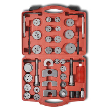 Brake Caliper Piston Wind Back Tool Kit 40 pcs[3/4]