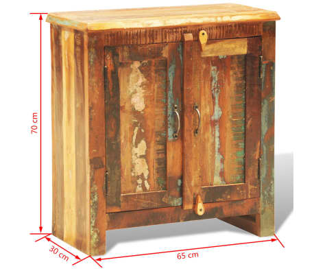 Antique Storage Cabinet With Doors Intended This Antiquestyle Reclaimed Wood Cabinet With Doors Offers You Certain Storage Space And Helps To Maintain Your Items In Great Order Rustic Door Cabinet Reclaimed Wood Finish Console Vintage