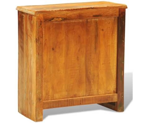 vidaXL Armoire vintage avec 2 portes Bois massif de récupération[6/11]