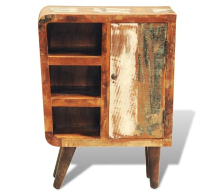 vidaXL Reclaimed Cabinet Solid Wood with 1 Door Vintage[6/11]