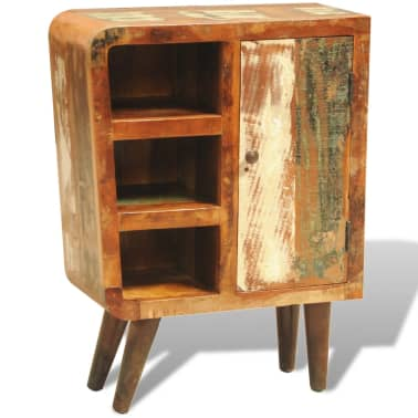 vidaXL Reclaimed Cabinet Solid Wood with 1 Door Vintage[2/11]