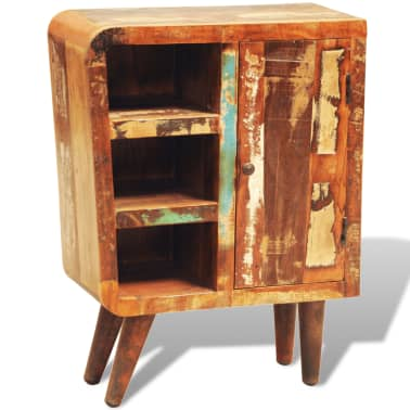 vidaXL Reclaimed Cabinet Solid Wood with 1 Door Vintage[3/11]