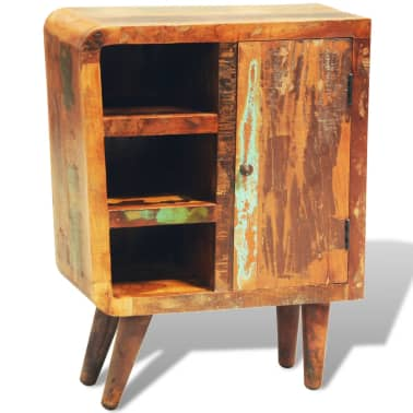 vidaXL Reclaimed Cabinet Solid Wood with 1 Door Vintage[5/11]