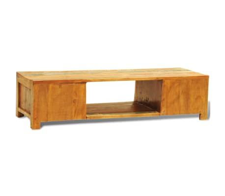 Mueble de tv madera reciclada dos puertas estilo vintage antiguo - Mueble dos puertas ...