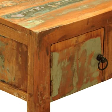 Reclaimed Wood TV Cabinet with 2 Doors Vintage Antique-style[8/11]