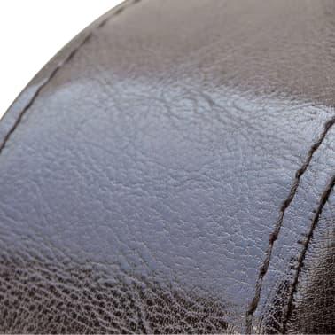 vidaXL Fotelja od Umjetne Kože Smeđa[2/5]