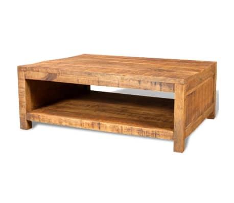 vidaxl coffee table solid mango wood. Black Bedroom Furniture Sets. Home Design Ideas