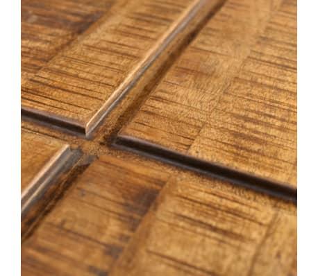 vidaXL Coffee Table Brown Square Solid Mango Wood[6/7]