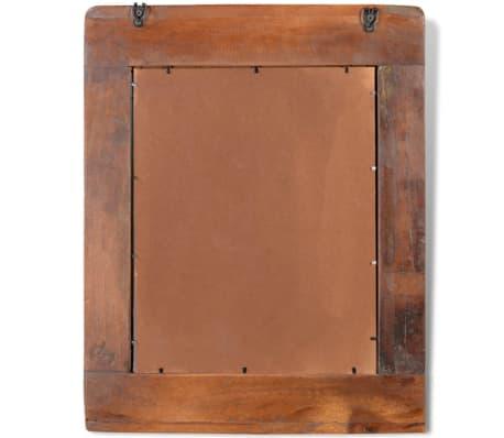 vidaxl teak badm bel waschbeckenunterschrank wandspiegel. Black Bedroom Furniture Sets. Home Design Ideas