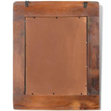 Reclaimed Solid Wood Bathroom Vanity Cabinet Set with Mirror[12/16]