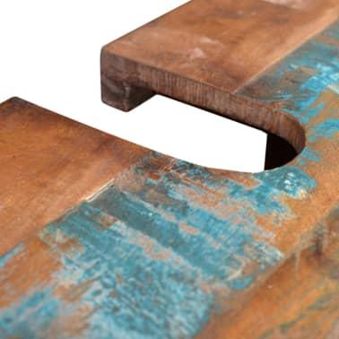 Reclaimed Solid Wood Bathroom Vanity Cabinet Set with Mirror[8/16]