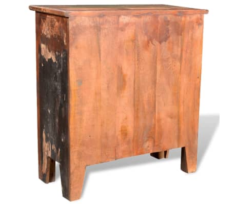 vidaXL Reclaimed Cabinet Solid Wood with 4 Drawers[6/12]