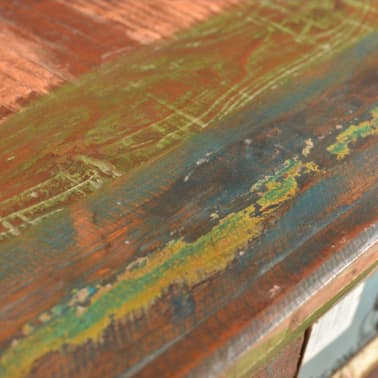 vidaXL Reclaimed Cabinet Solid Wood with 4 Drawers[7/12]